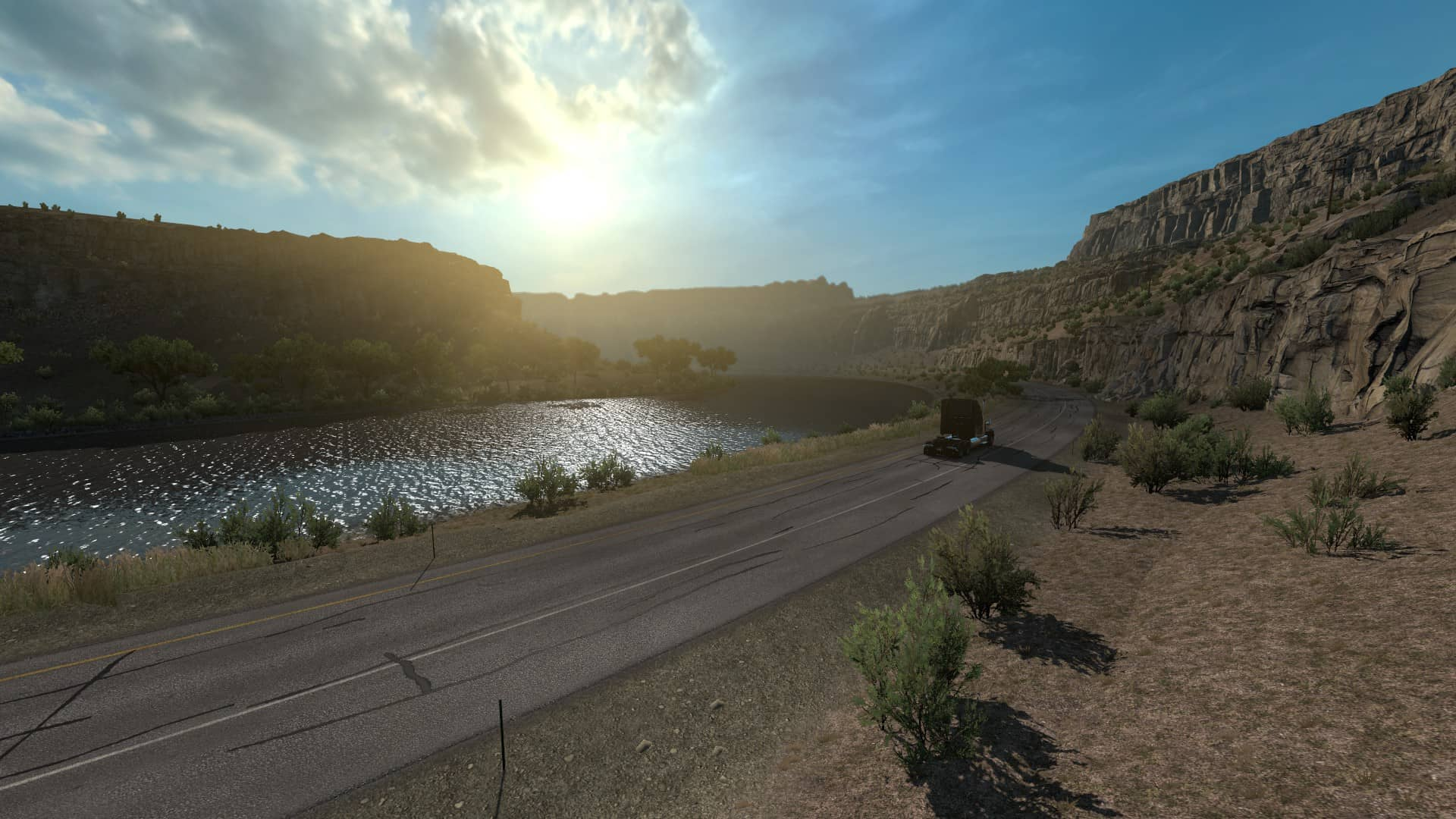 Odpočívadlo v American Truck Simulator