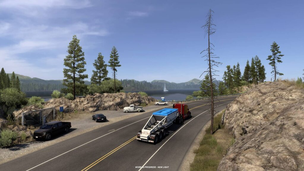 Kalifornie a nové textury