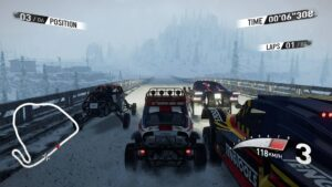 V-Rally 4 a ruská trať