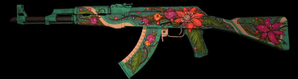 Nejdražší CS:GO skiny - AK-47 Wild Lotus