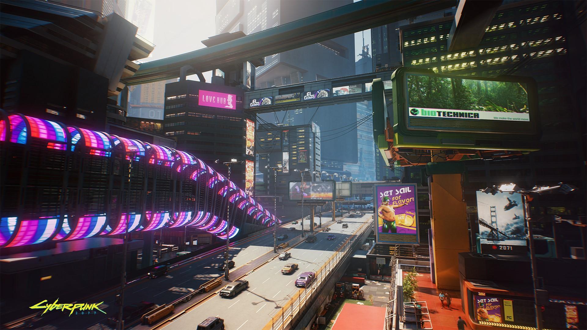 Cyberpunk 2077 trh višňových květů