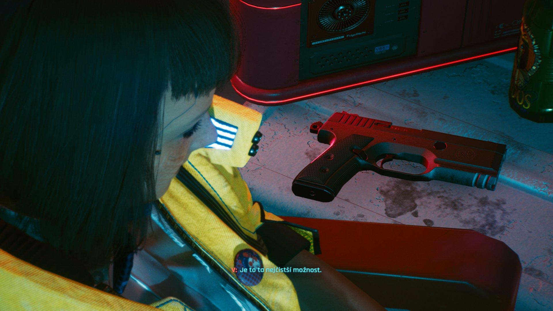 Cyberpunk 2077 volba žít či zemřít