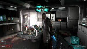 Doom 3 BFG Edition – laboratoř