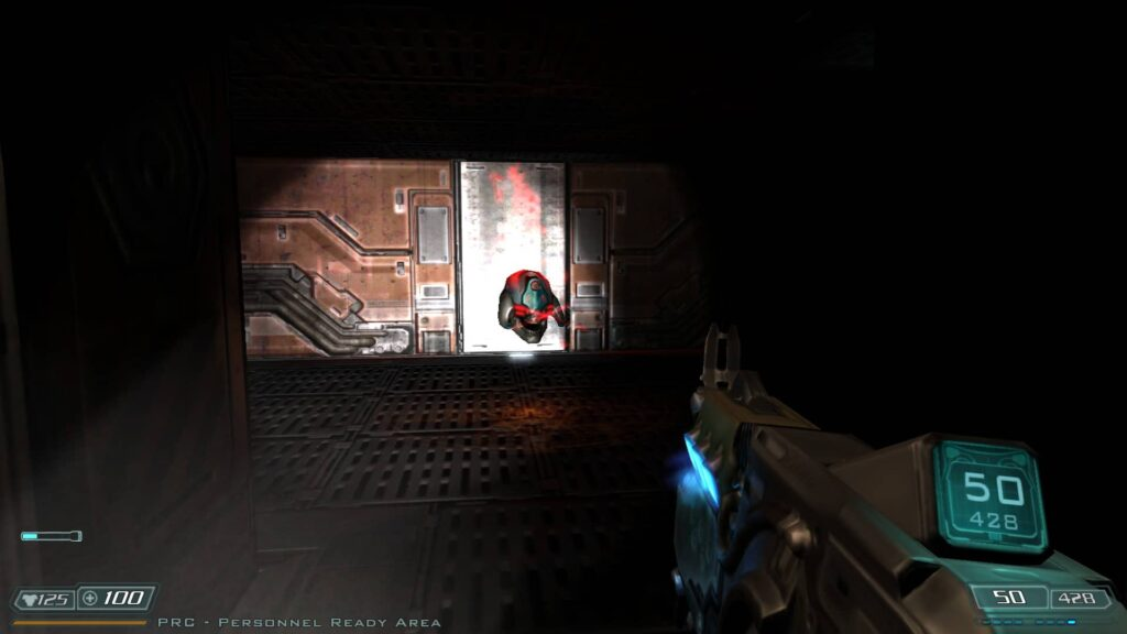 Doom 3 BFG Edition – s baterkou