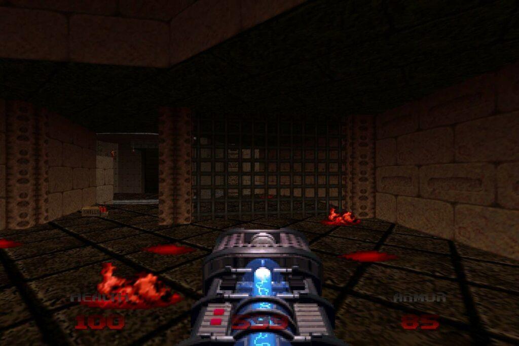 Doom 64 – Plasma gun
