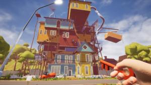Dům se zvětšuje - Hello Neighbor recenze