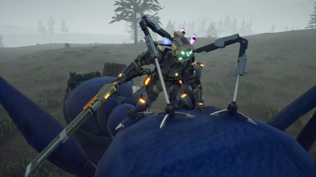 Earth Defense Force Iron Rain ovládnutí mravence
