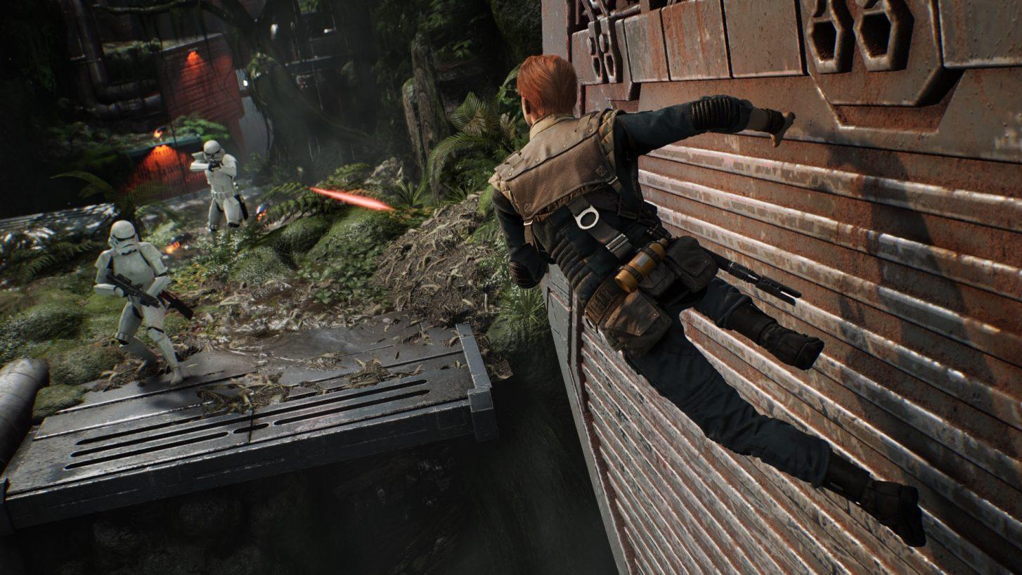 Jedi Fallen Order wall run