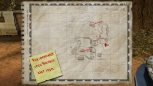 Postal 2 - mapa
