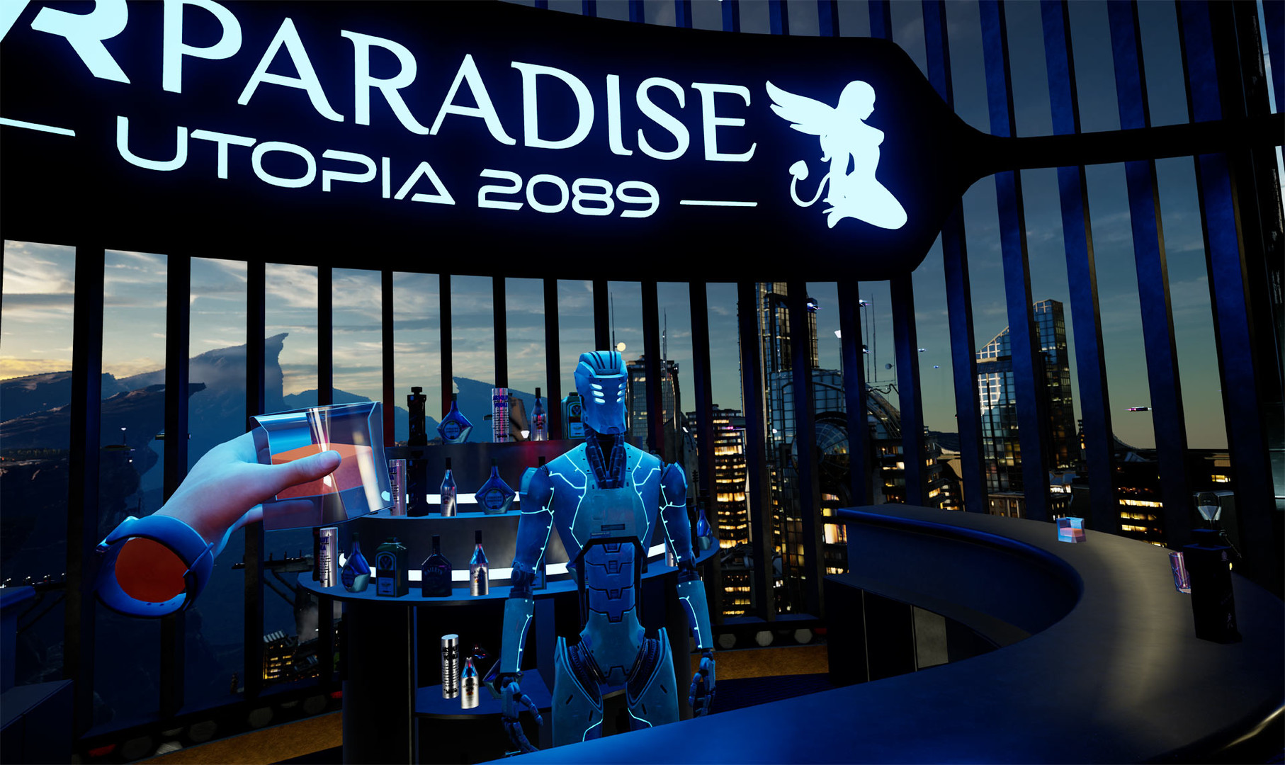 VR Paradise robot