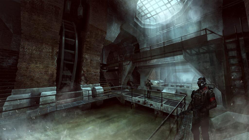Wolfenstein: Old Blood kanalizace