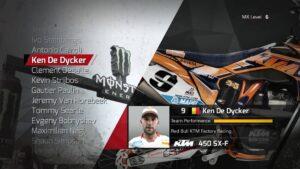 MXGP licencovaní závodníci