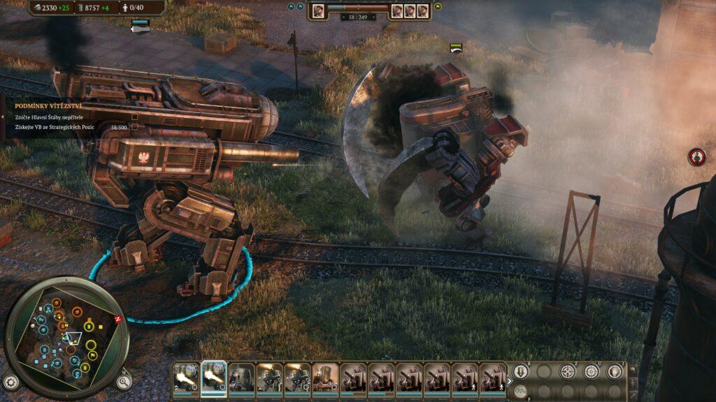 Iron Harvest fight