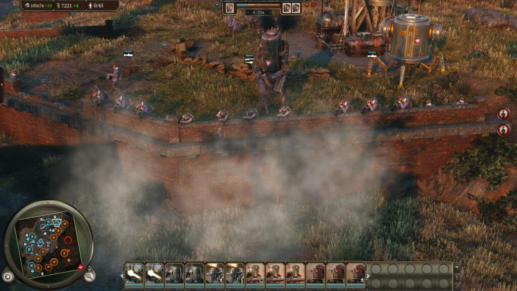 Iron Harvest wall