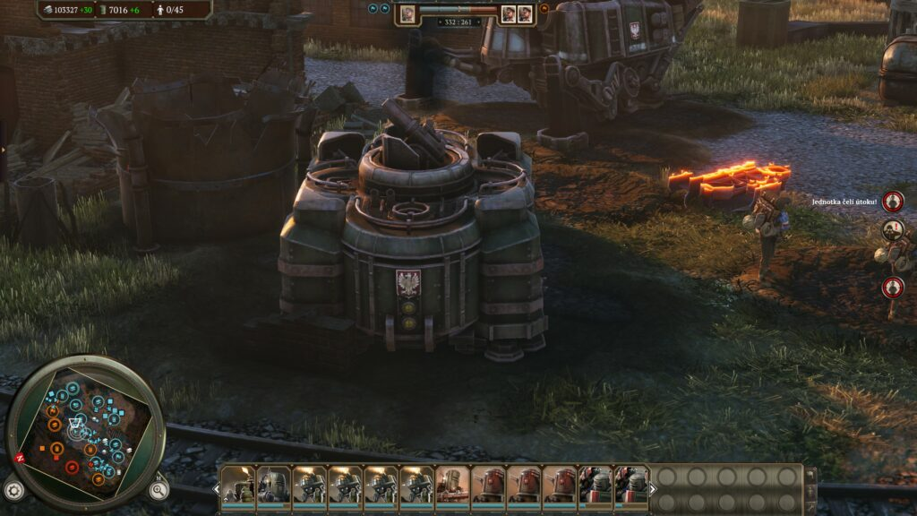 iron harvest bunkrmech