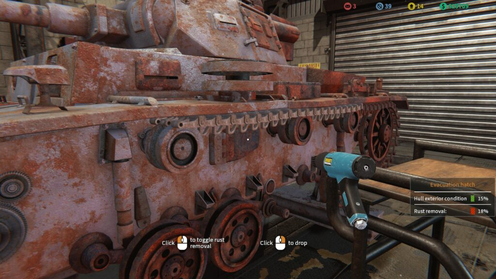 Tank Mechanic Simulator tank