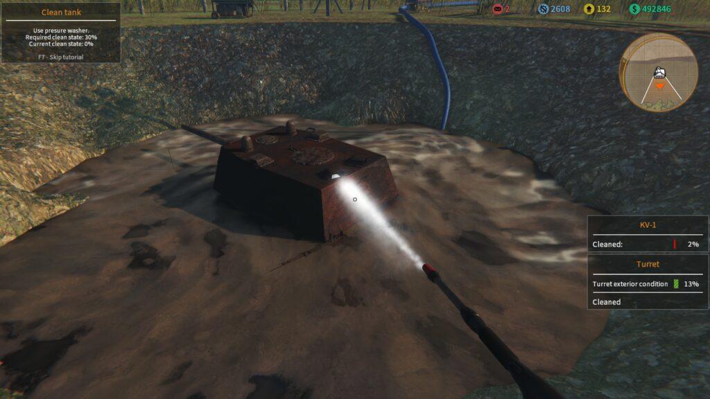 Tank Mechanic Simulator extract