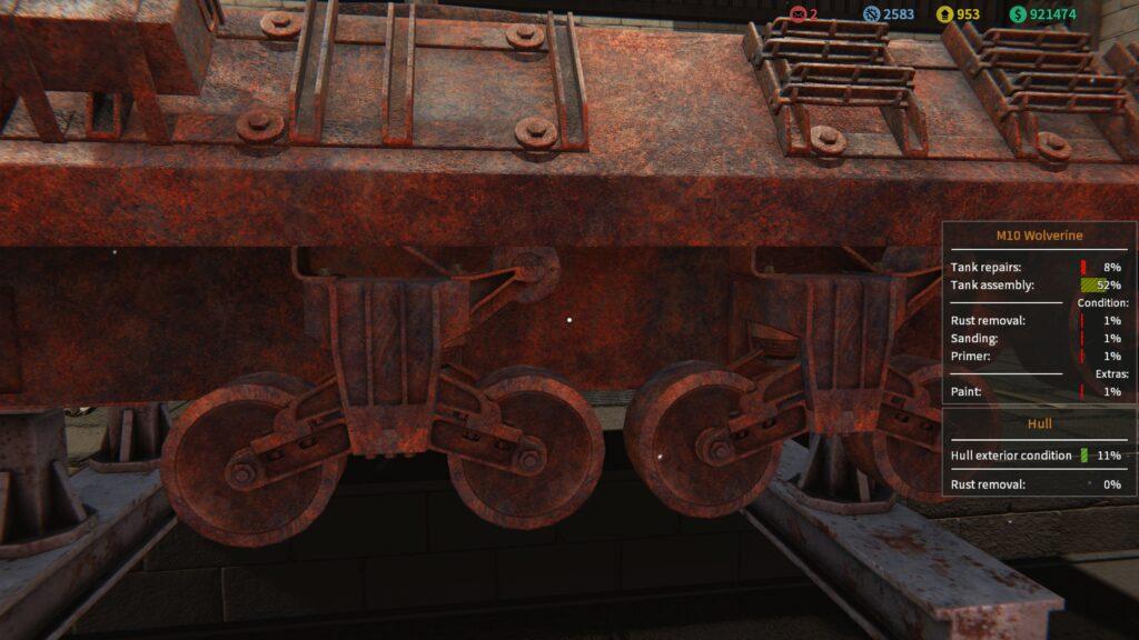 Tank Mechanic Simulator wolverine