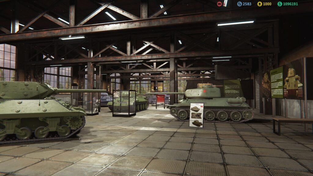 Tank Mechanic Simulator museum