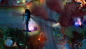 American Fugitive – honička v tanku