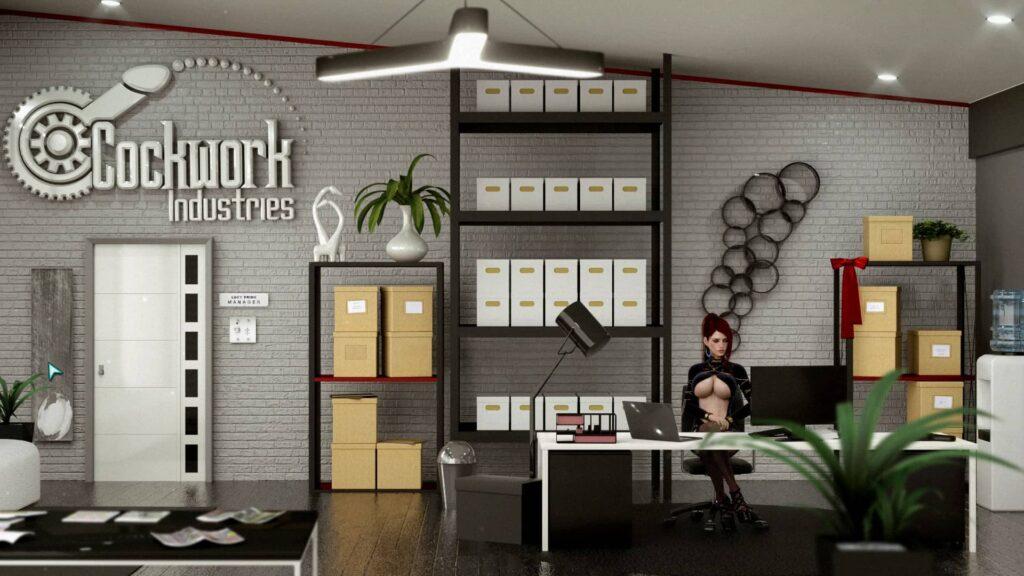 Cockwork Industries – kancelář s Andy