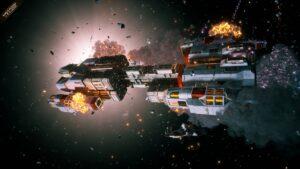 Everspace 2 - destrukce lodi