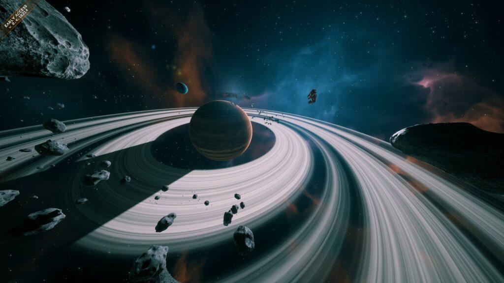 Everspace 2 - planetární systém