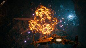 Everspace 2 - výbuch