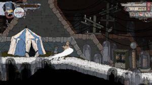 Feudal Alloy – nácvik máchání mečem