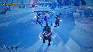 Frozen Flame – boj