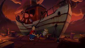 Gibbous - A Cthulhu Adventure – starý námořník