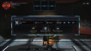 Hellpoint – výroba zbraně