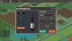 Hundred Days – výroba vína