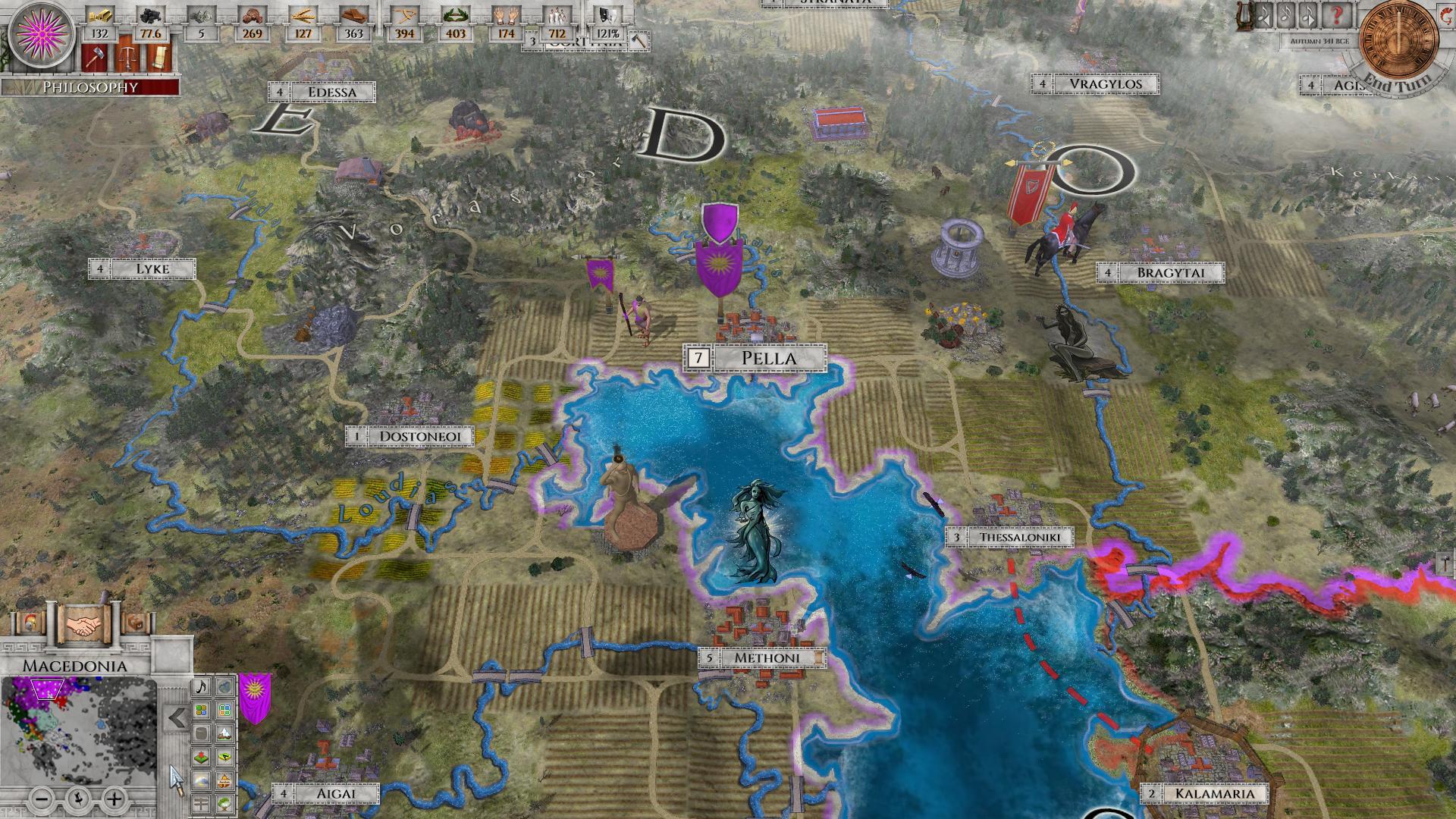 Imperiums Greek Wars Makedonie