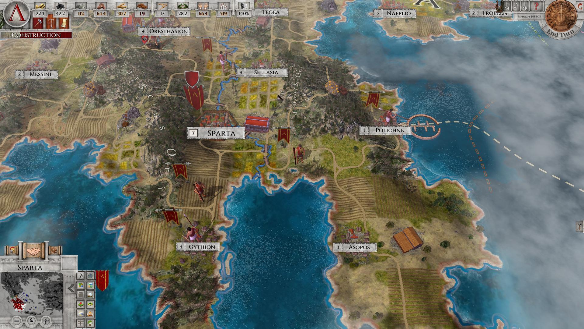 Imperiums Greek Wars Sparta