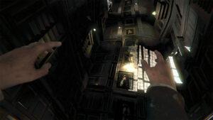 Layers of Fear VR obrazy ve vysoké místnosti