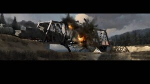 Partisans 1941 – devastace mostu