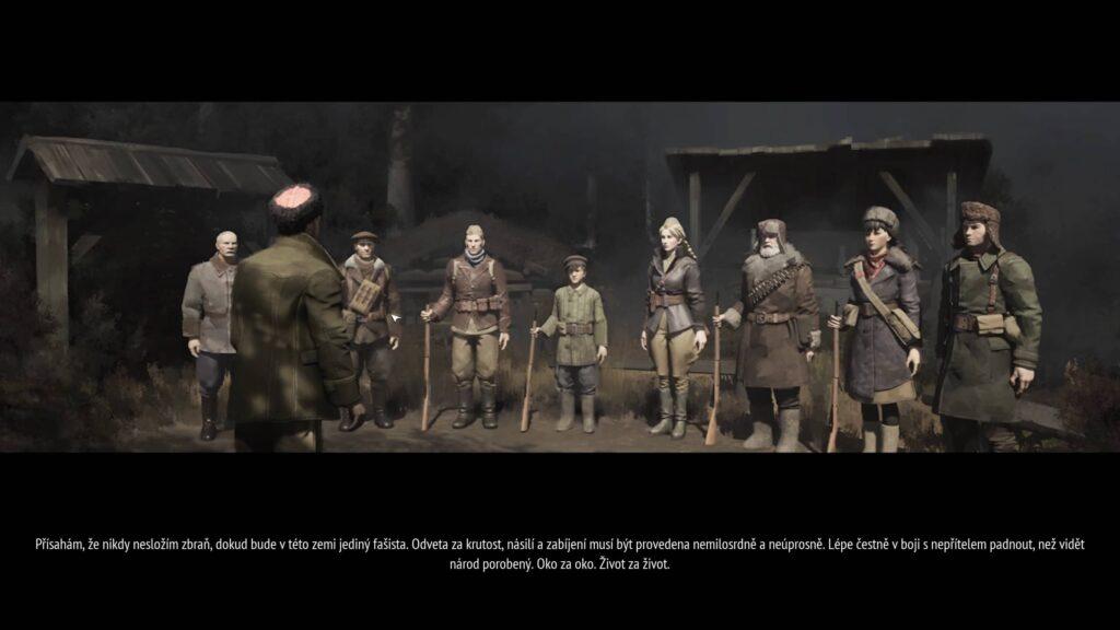 Partisans 1941 – přísaha