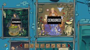 Perky Little Things – cenzurovaný režim