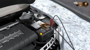 Roadside Assistance Simulator – dobíjení autobaterie