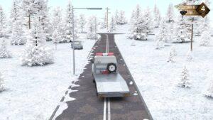 Roadside Assistance Simulator – odtahová dodávka