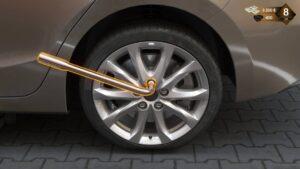Roadside Assistance Simulator – oprava kola