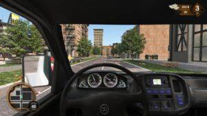 Roadside Assistance Simulator – pohled z kabiny
