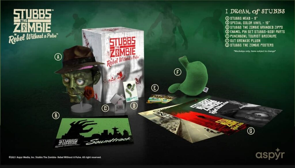 Stubbs the Zombie – sberatelska edice