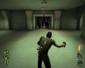 Stubbs the Zombie – házení žáludku