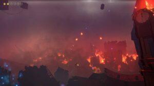The Last Sky – požár
