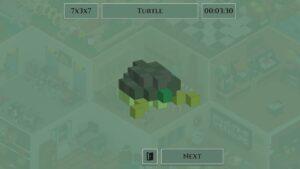 Voxelgram – želva