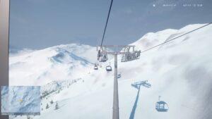 Winter Resort Simulator Season 2 - jízda lanovkou