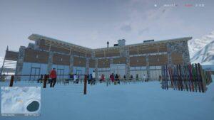 Winter Resort Simulator Season 2 - restaurace u sjezdovky