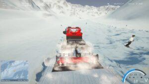 Winter Resort Simulator Season 2 - úprava sjezdovky